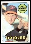 1969 Topps #368  Vic Roznovsky  Front Thumbnail