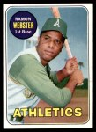 1969 Topps #618  Ramon Webster  Front Thumbnail