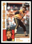 1984 Topps #69  Rod Scurry  Front Thumbnail