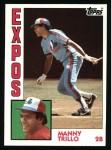 1984 Topps #180  Manny Trillo  Front Thumbnail