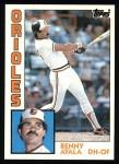 1984 Topps #443  Benny Ayala  Front Thumbnail