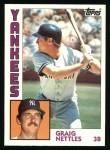 1984 Topps #175  Graig Nettles  Front Thumbnail