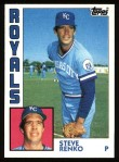 1984 Topps #444  Steve Renko  Front Thumbnail