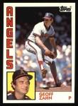 1984 Topps #468  Geoff Zahn  Front Thumbnail