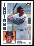 1984 Topps #115  Andre Thornton  Front Thumbnail