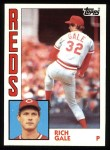1984 Topps #142  Rich Gale  Front Thumbnail