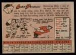 1958 Topps #317  Albie Pearson  Back Thumbnail