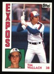 1984 Topps #232  Tim Wallach  Front Thumbnail