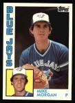 1984 Topps #423  Mike Morgan  Front Thumbnail