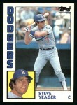 1984 Topps #661  Steve Yeager  Front Thumbnail