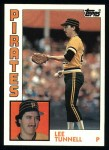 1984 Topps #384  Lee Tunnell  Front Thumbnail