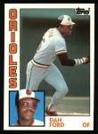 1984 Topps #530  Dan Ford  Front Thumbnail