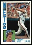 1984 Topps #29  Danny Heep  Front Thumbnail