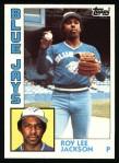 1984 Topps #339  Roy Lee Jackson  Front Thumbnail