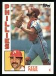 1984 Topps #484  Ozzie Virgil  Front Thumbnail