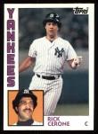 1984 Topps #617  Rick Cerone  Front Thumbnail