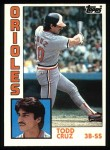 1984 Topps #773  Todd Cruz  Front Thumbnail
