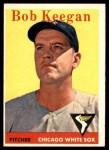 1958 Topps #200  Bob Keegan  Front Thumbnail