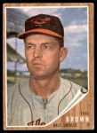 1962 Topps #488  Hal Brown  Front Thumbnail