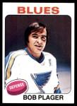 1975 Topps #131  Bob Plager  Front Thumbnail
