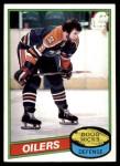 1980 Topps #221  Doug Hicks  Front Thumbnail