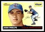 2004 Topps Heritage #126  Josh Phelps  Front Thumbnail