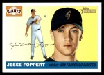 2004 Topps Heritage #156  Jesse Foppert  Front Thumbnail
