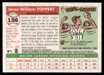 2004 Topps Heritage #156  Jesse Foppert  Back Thumbnail