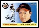 2004 Topps Heritage #139  Rodrigo Lopez  Front Thumbnail