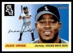 2004 Topps Heritage #7  Juan Uribe  Front Thumbnail