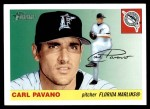 2004 Topps Heritage #109  Carl Pavano  Front Thumbnail