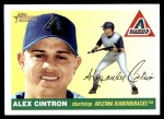 2004 Topps Heritage #39  Alex Cintron  Front Thumbnail