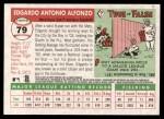 2004 Topps Heritage #79  Edgardo Alfonzo  Back Thumbnail
