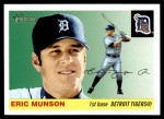 2004 Topps Heritage #188  Eric Munson  Front Thumbnail