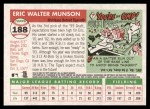 2004 Topps Heritage #188  Eric Munson  Back Thumbnail