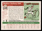 2004 Topps Heritage #119  Zach Day  Back Thumbnail