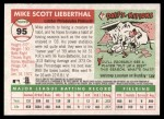 2004 Topps Heritage #95  Mike Lieberthal  Back Thumbnail