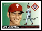 2004 Topps Heritage #95  Mike Lieberthal  Front Thumbnail