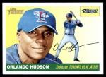 2004 Topps Heritage #91  Orlando Hudson  Front Thumbnail