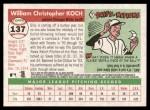 2004 Topps Heritage #137  Billy Koch  Back Thumbnail