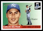 2004 Topps Heritage #11  Carlos Beltran  Front Thumbnail