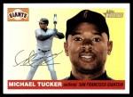 2004 Topps Heritage #72  Michael Tucker  Front Thumbnail