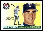2004 Topps Heritage #145  Mark Teixeira  Front Thumbnail