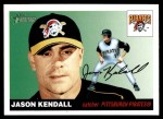 2004 Topps Heritage #49 NEW Jason Kendall   Front Thumbnail