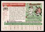 2004 Topps Heritage #293  Bobby Crosby  Back Thumbnail