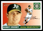 2004 Topps Heritage #293  Bobby Crosby  Front Thumbnail