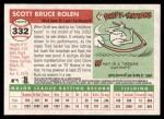 2004 Topps Heritage #332  Scott Rolen  Back Thumbnail
