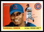 2004 Topps Heritage #298  Randall Simon  Front Thumbnail