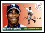 2004 Topps Heritage #250 THR Alfonso Soriano   Front Thumbnail