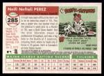 2004 Topps Heritage #285  Neifi Perez  Back Thumbnail